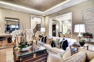 Newport Coast - transitional - Living Room - Orange County - Details a Design Firm