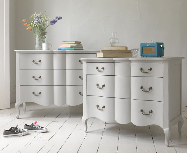 Our Beautiful Mathilde Chest Of Drawers In French Grey Loafhome