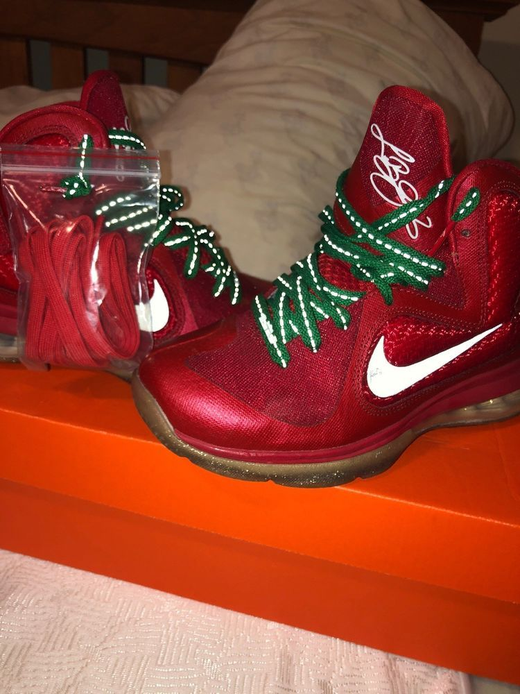 ef15258827021 Lebron 9 Christmas Size 4.5  fashion  clothing  shoes  accessories   mensshoes