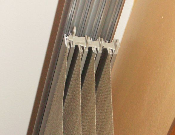 How To Actually Hang Those Curtain Panels From IKEA On The Track System.  Since Their