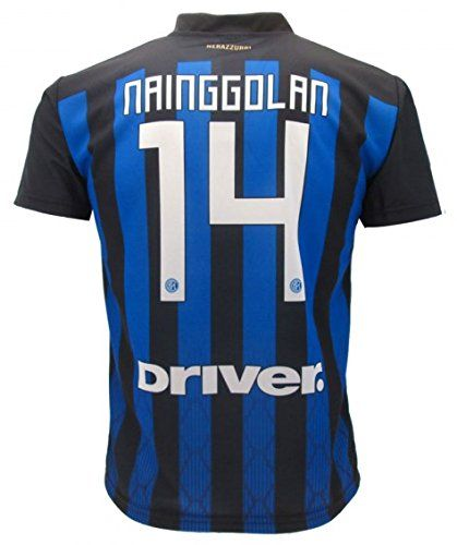 F.C. Internazionale - L.C. Sport T-Shirt Maillot de Football RADJA  NAINGGOLAN 14 F.C. Inter Nouveau Saison 2018-2019 Replica Officiel avec  Licence - Tous ... 0fe9b49d81f9