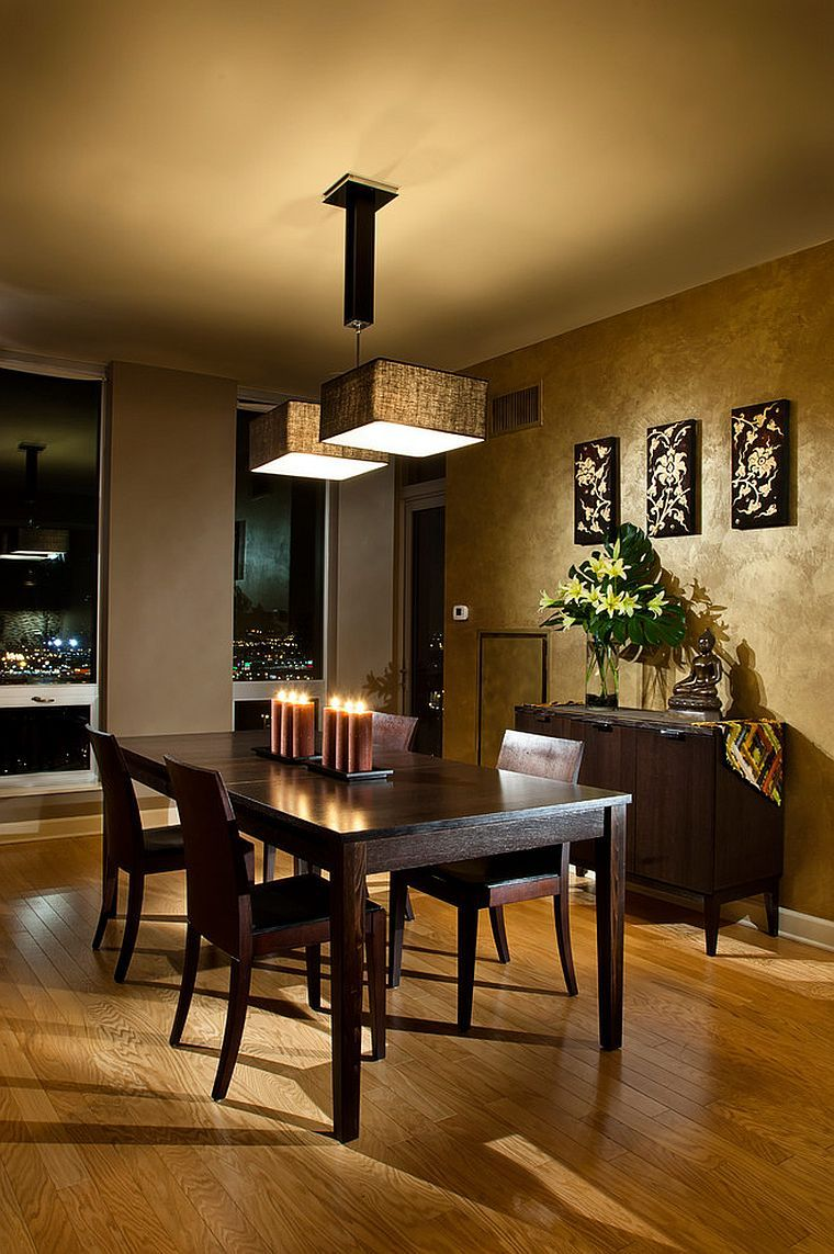 Serene And Practical 40 Asian Style Dining Rooms Sovremennaya