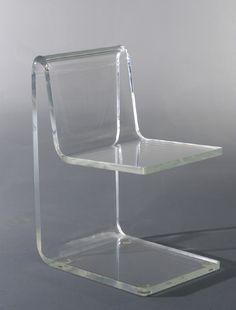 jean dudon plexiglass side chair 1968 id deco pinterest chaises plastique et canap. Black Bedroom Furniture Sets. Home Design Ideas