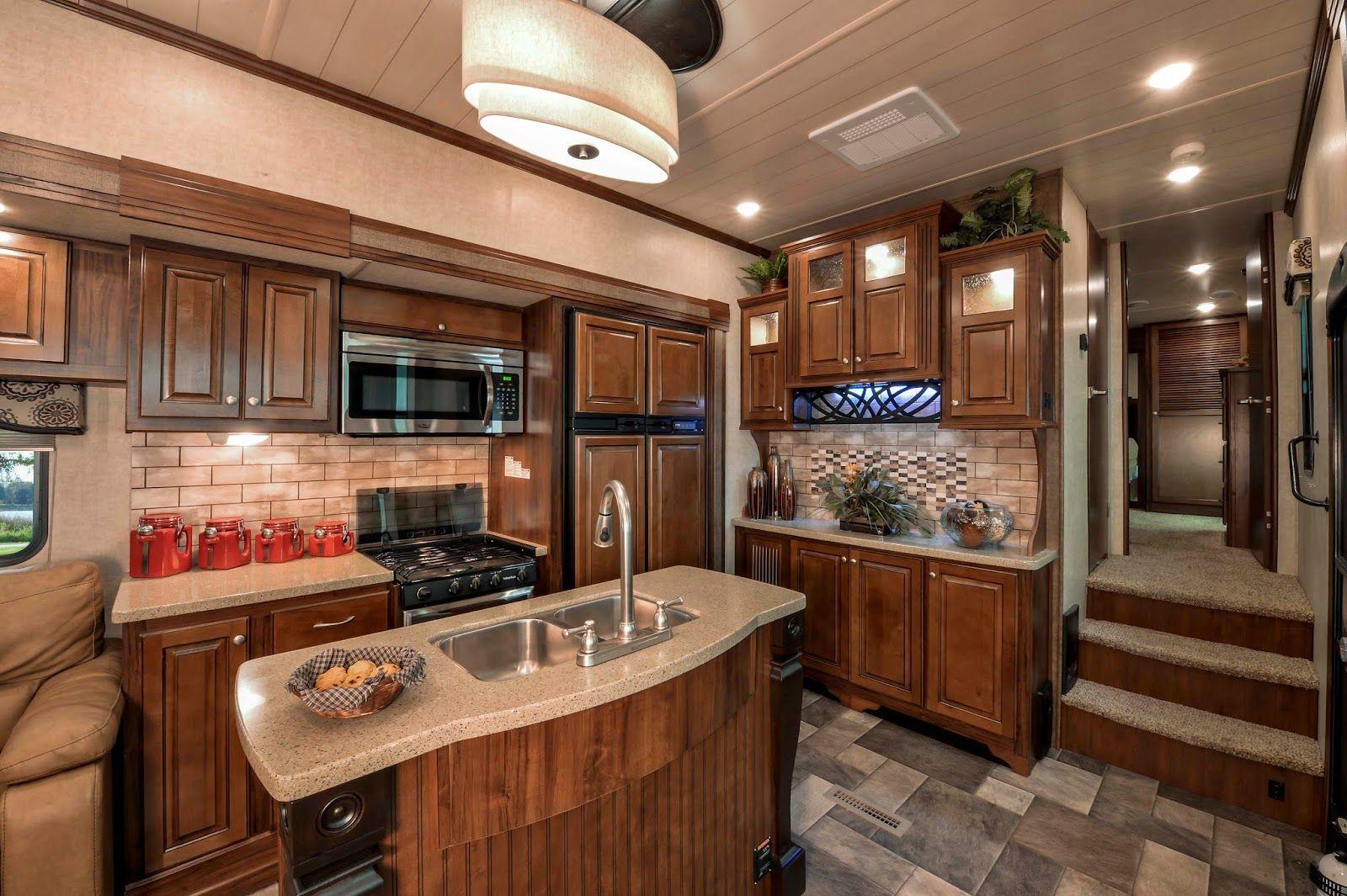 2015 interior bighorn rv - recherche google | luxury 5th wheel