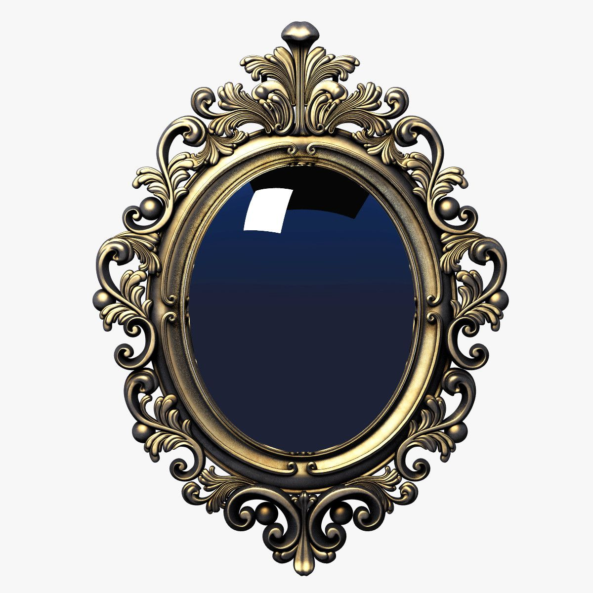 3d frame baroque oval | Every Day is Halloween | Pinterest | Marcos ...