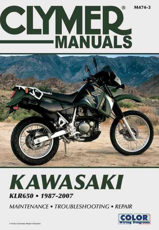 Kawasaki Klr650 1987 2007 Paperback Overstock Com Shopping The Best Deals On Motorcycles Clymer Klr 650 Kawasaki