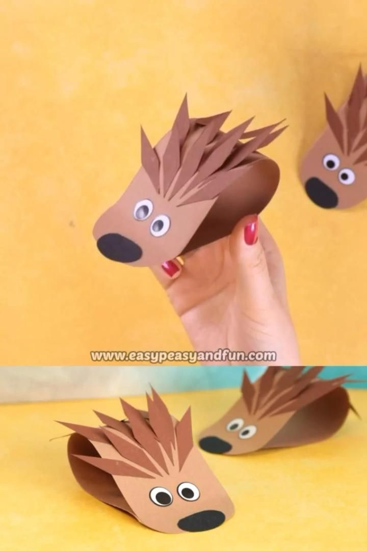 Photo of Simple Hedgehog Paper – Easy Peasy and Fun