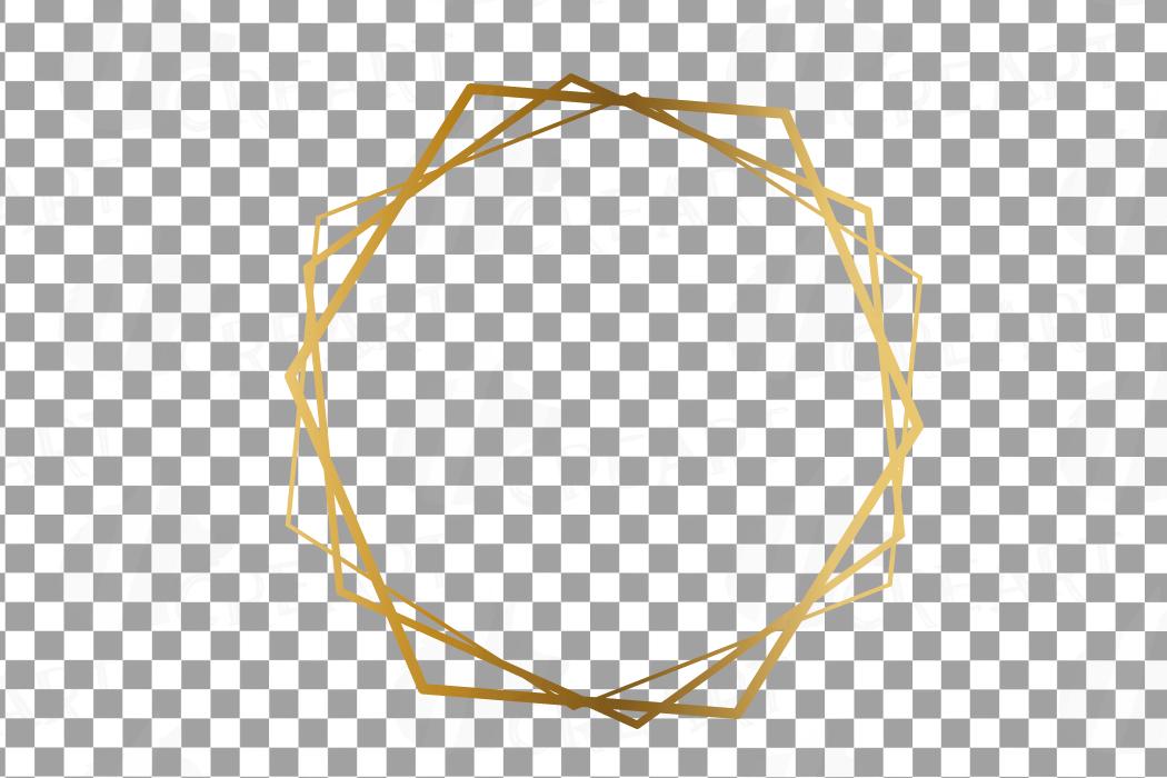 Download Elegant Wedding Geometric Golden Frames Lineal Frames Png 156621 Illustrations Design Bundles Flower Graphic Design Logo Design Feminine Illustration Design
