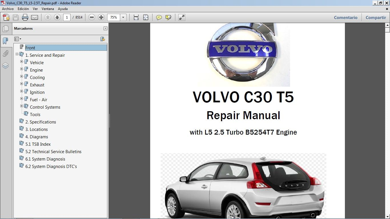 Wiring Diagram De Taller Volvo C30