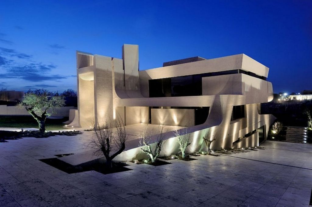 exotic modern house in madrid by the a cero architects home - Exotic Home Designs