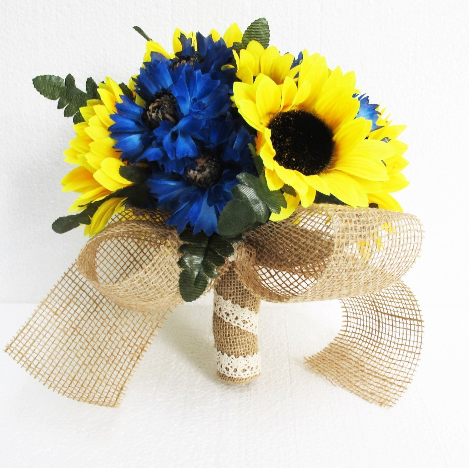 Wedding bouquets of sunflowers  Pin by Wedding Flowers Winter on Wedding Flowers Diy Friends