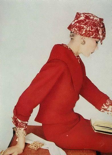 Henry Clarke, Vogue 1958