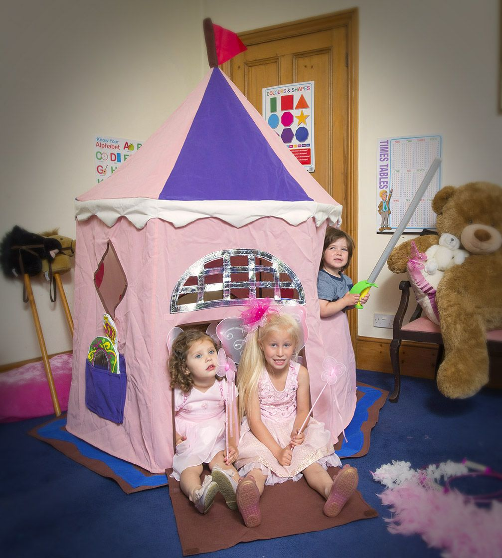 Fairy Princess Castle play tent for children Tappeti