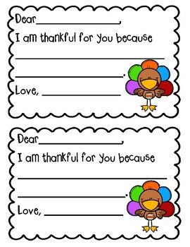 Free I Am Thankful For You Printable Cards Thanksgiving Preschool Teachers Thanksgiving Thanksgiving School