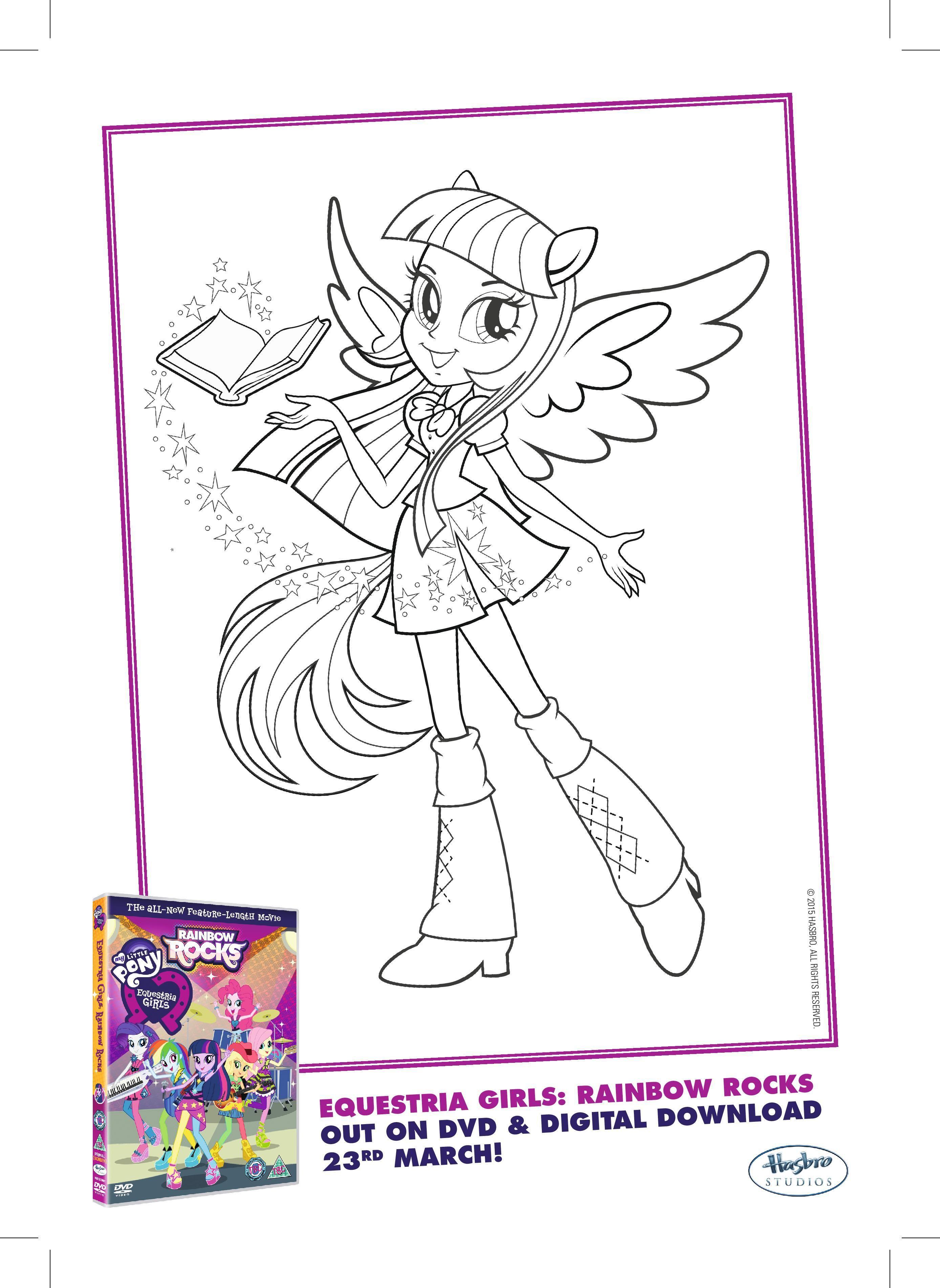 Luxe Dessin à Colorier Gratuit My Little Pony
