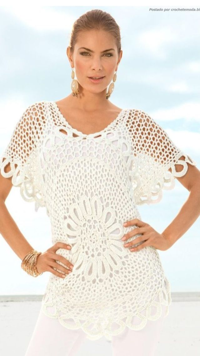 Crochet apparel #i heart crochet #lovely clothes | crochet ...
