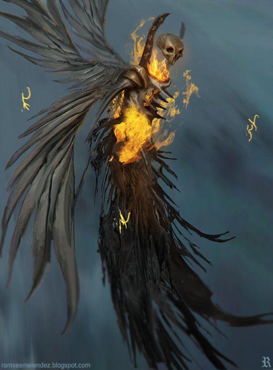Demônios, Anjos Caídos E Seres Fantasmagóricos Nas