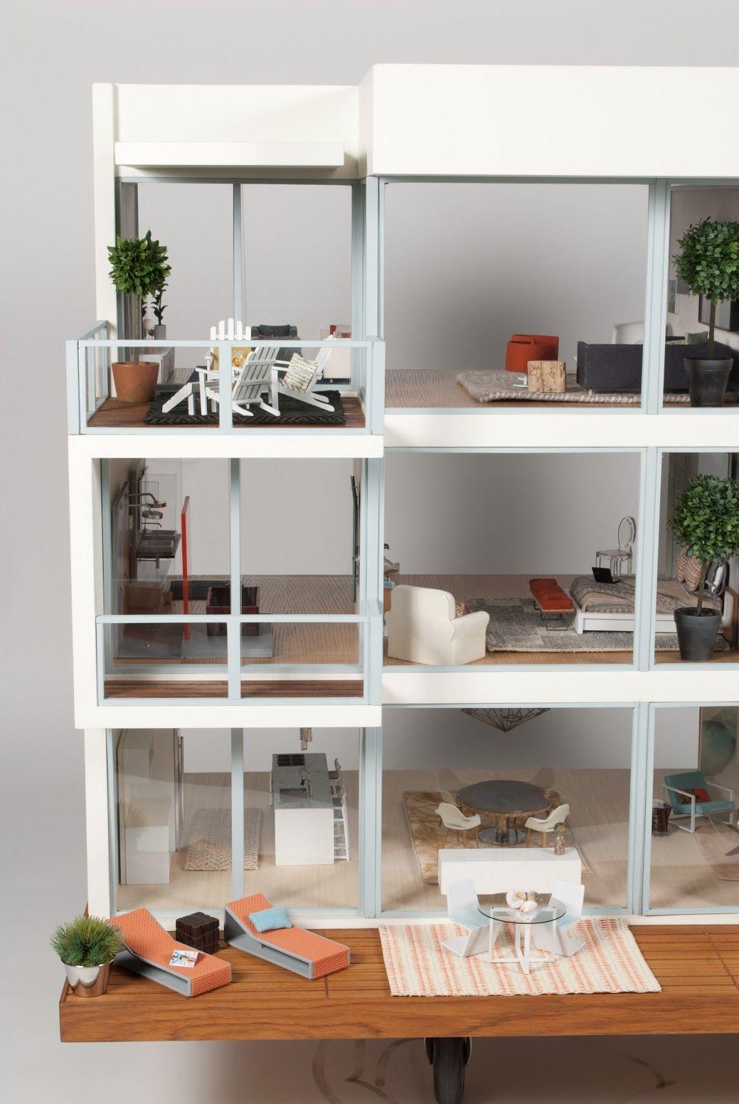 modern doll house furniture. Modern Mini Houses Doll House Furniture O