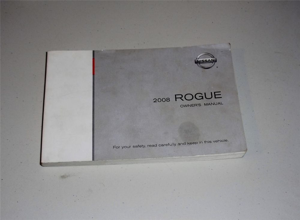 2008 nissan rogue owners manual book nissan owners manuals rh pinterest com Nissan Rogue Warning Lights Nissan Rogue Engine