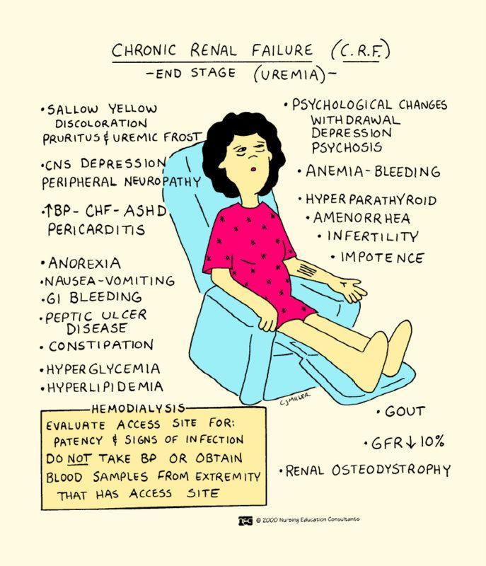 Nursing mnemonics kidney failure