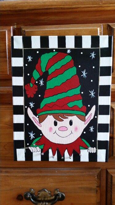 Cute Lil Elf Becky Perkinson Artist