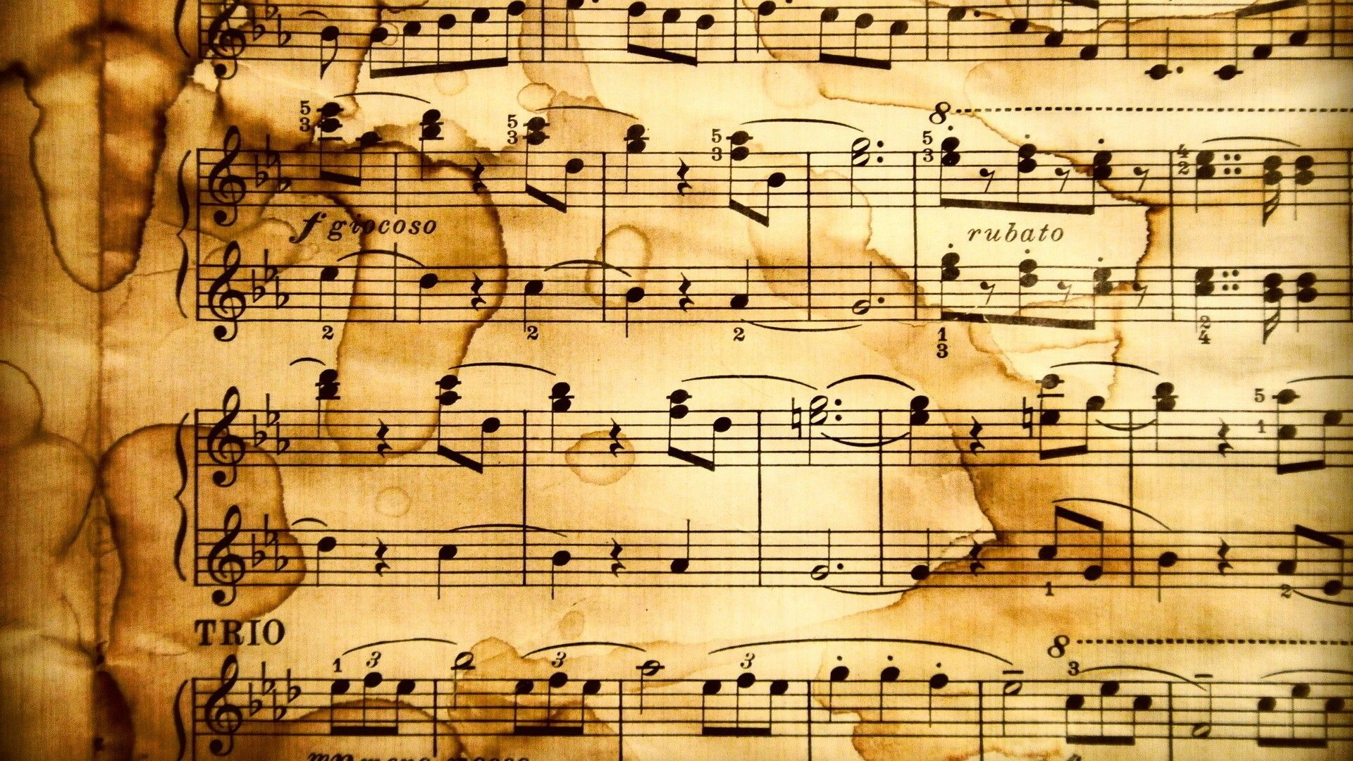 Music notes background places to visit pinterest music notes music notes background voltagebd Image collections