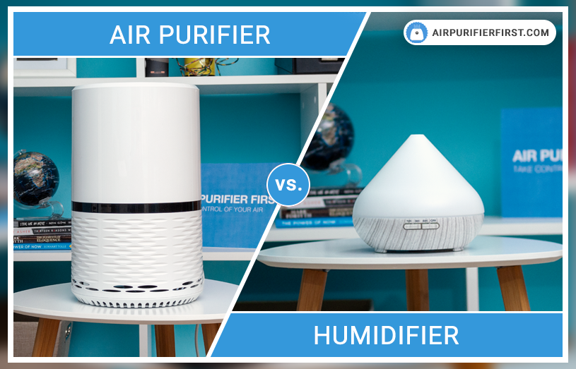 Air Purifier vs. Humidifier Difference and Comparison in