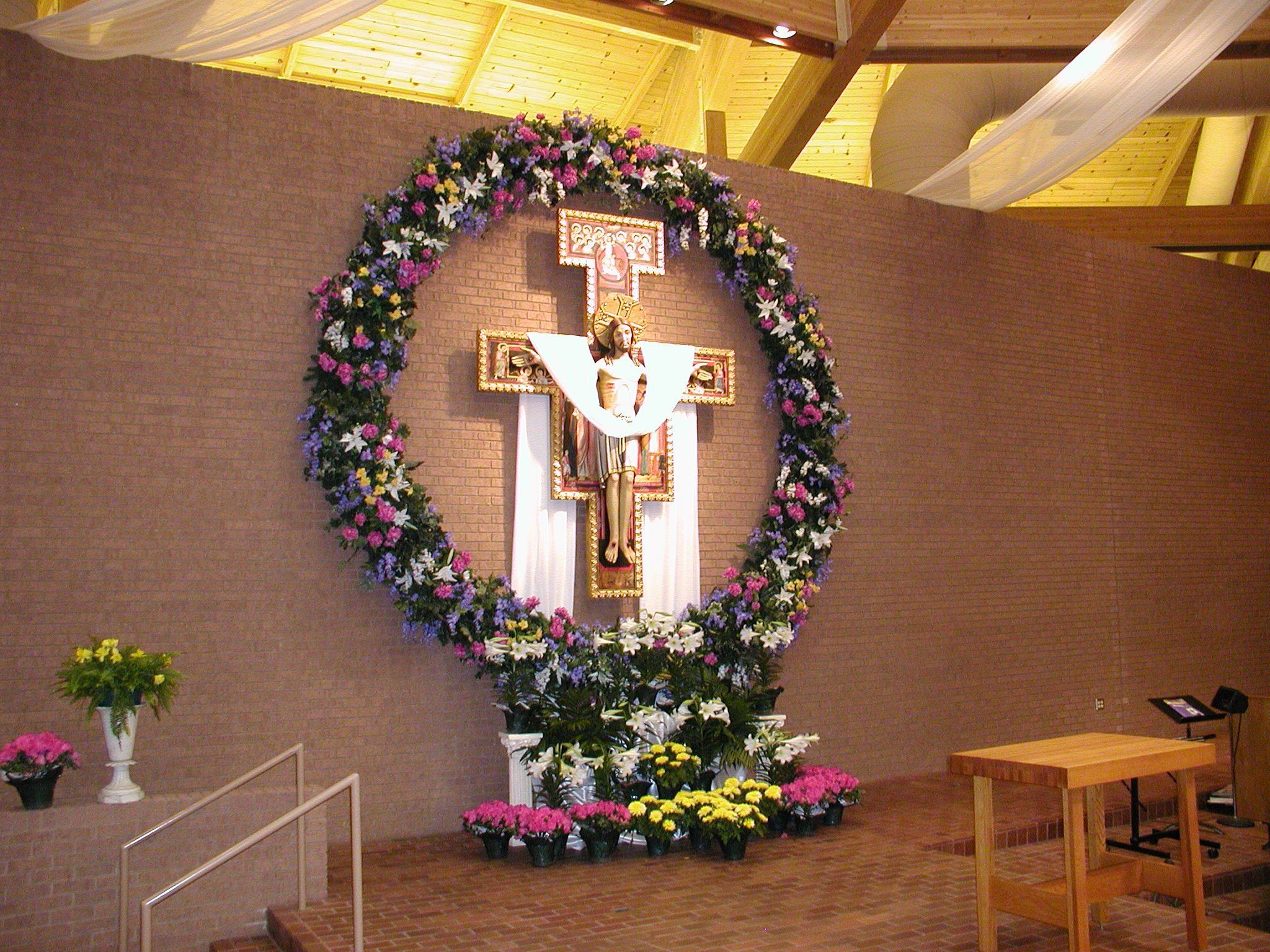 Easter Church Decorations Advent