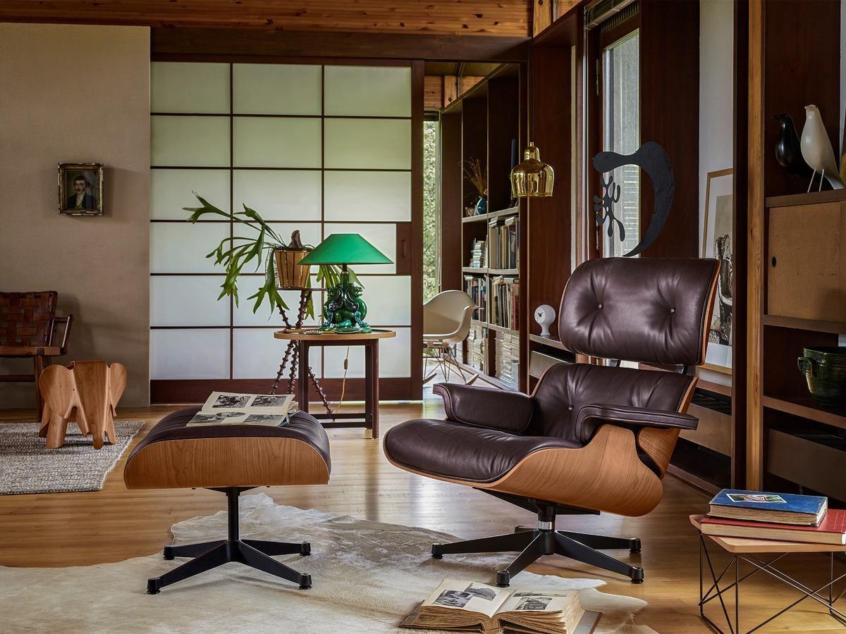 Vitra Eames Elephant Plywood Sessel Schlafzimmerstuhl Lounge