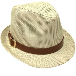 80a39b1bff545 Faded Glory Women s Straw Fedora Hat with Band