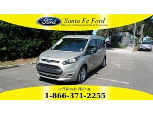 2014 Tectonic Silver Metallic Ford Transit Connect Wagon Xlt