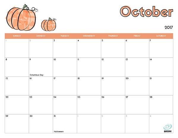 2020 and 2021 Printable Calendars for Kids - iMom   Kids ...
