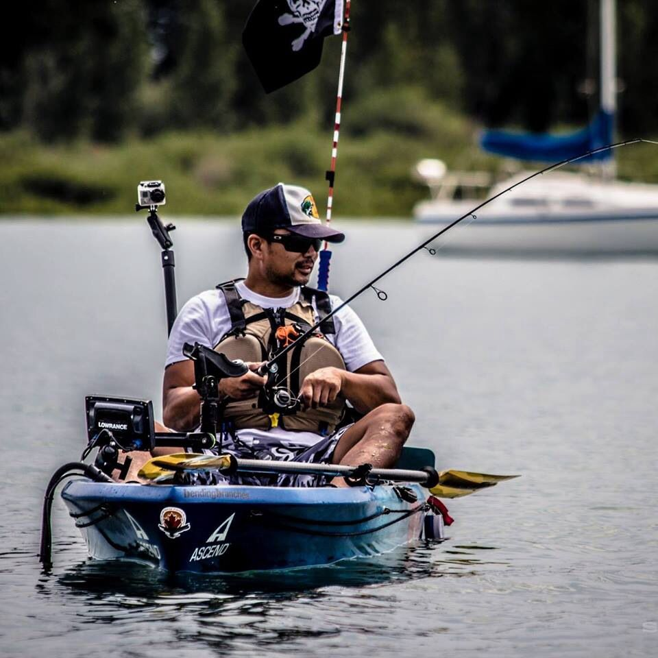 Ascend fs12t taking the battle to the water 2014 for Ascend fs12t fishing kayak