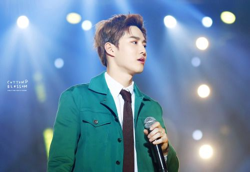 Suho - 160114 25th High1 Seoul Music Awards Credit: Cotton Blossom. (제25회 하이원 서울가요대상)