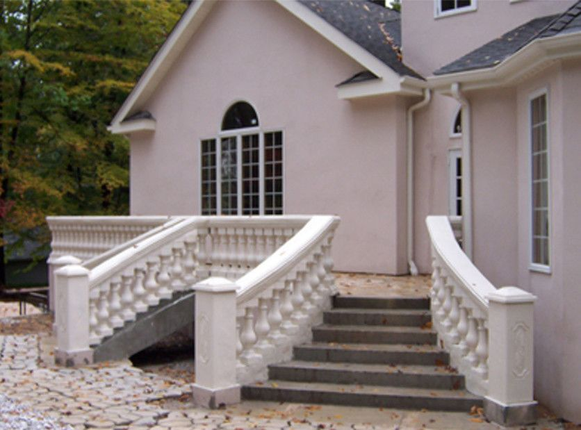 Best 13 Piece Professional Concrete Railing Mold Set With 400 x 300