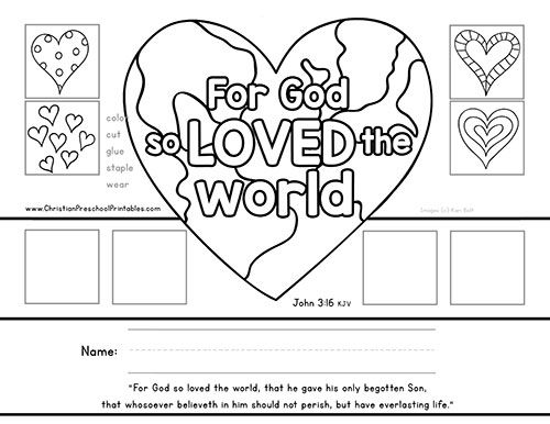 free printables bible verse crowns christian preschool printables