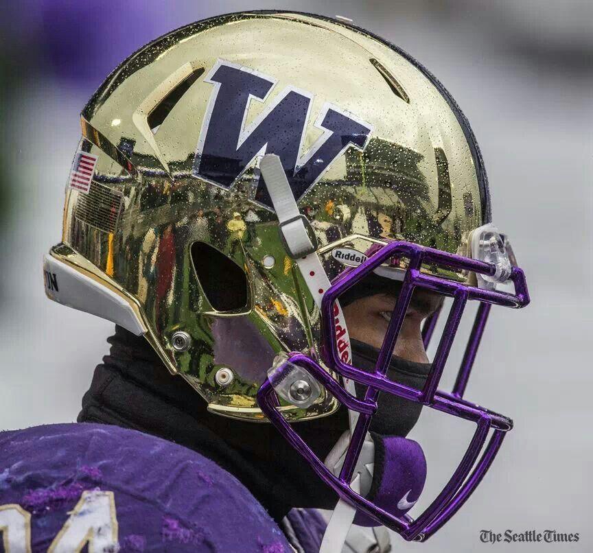 U Of W Husky Football Helmet Football Helmets Washington Huskies Football Huskies Football