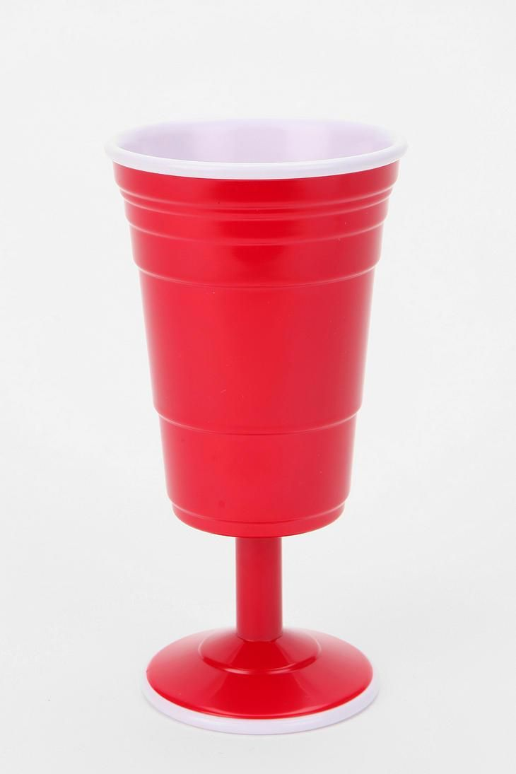 Red Cup Living Wine Glass #urbanoutfitters