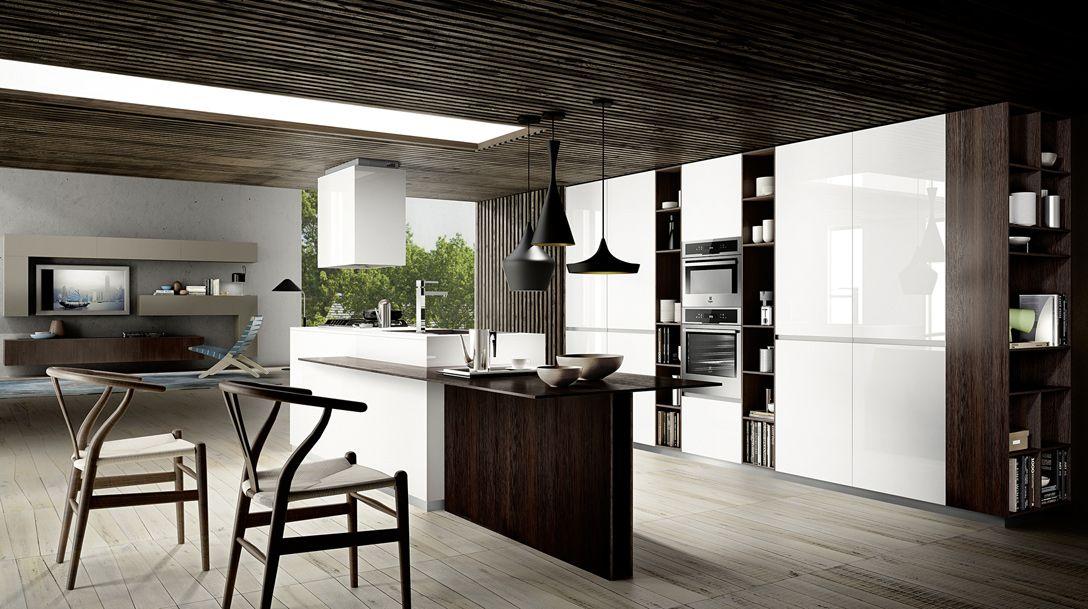 Mood di Cucine Composit è una cucina moderna caratterizzata da un ...