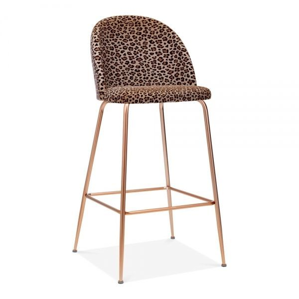 Heather Bar Stool with Backrest, Velvet Upholstered, Leopard Print 75cm,  #75cm #Backrest #Bar #carpetsala #Heather #leopard #Print #Stool #Upholstered #Velvet, Your bed room flooring can be important. It is actually the final thing that you a is going to feel before you'll slide from a footwear as well as scale into cargo area during the night, plus its first of all they may feel while you...