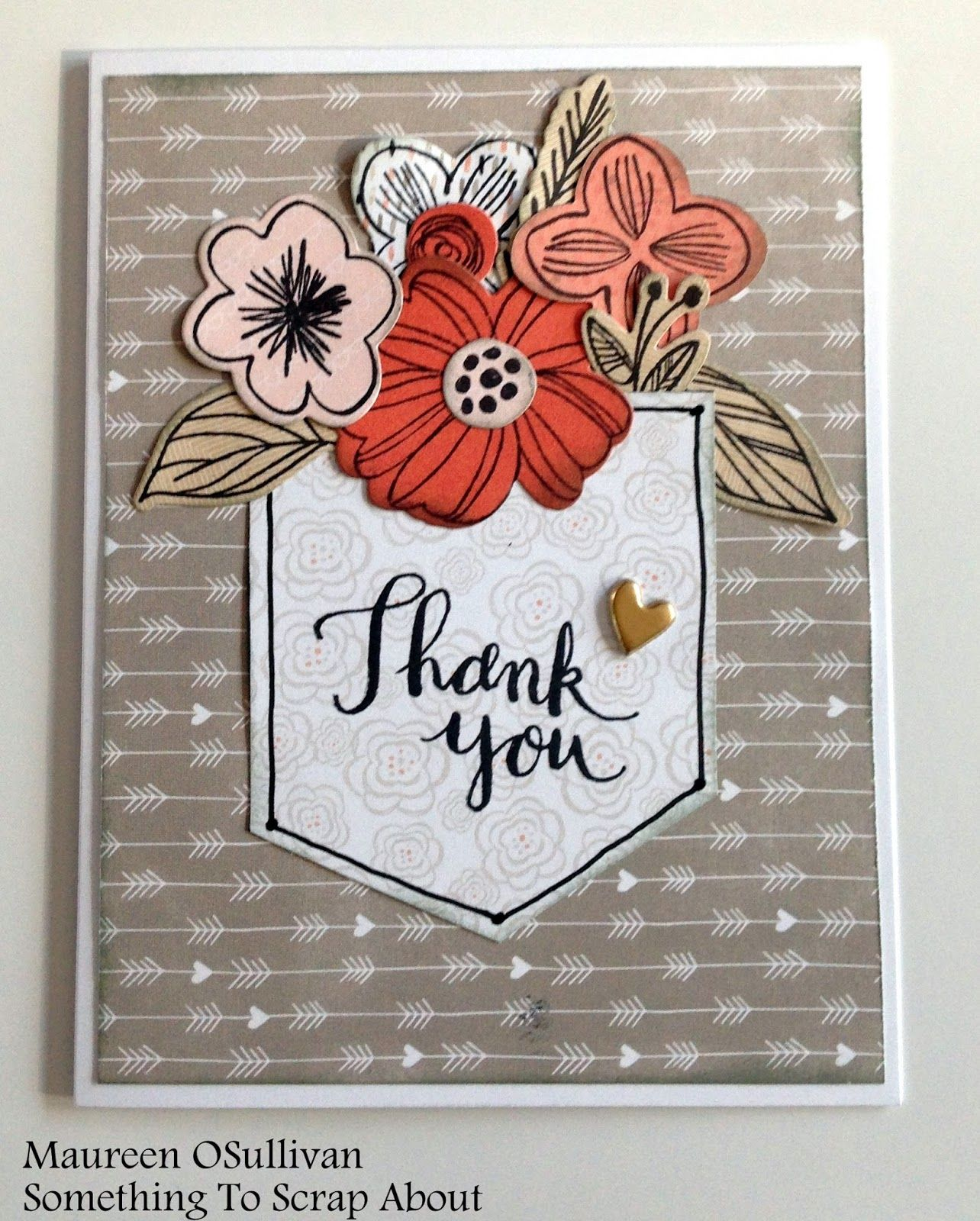 Card Making Ideas Close To My Heart Part - 24: CTMH-- Springtime Wishes Card, Charlotte Papers