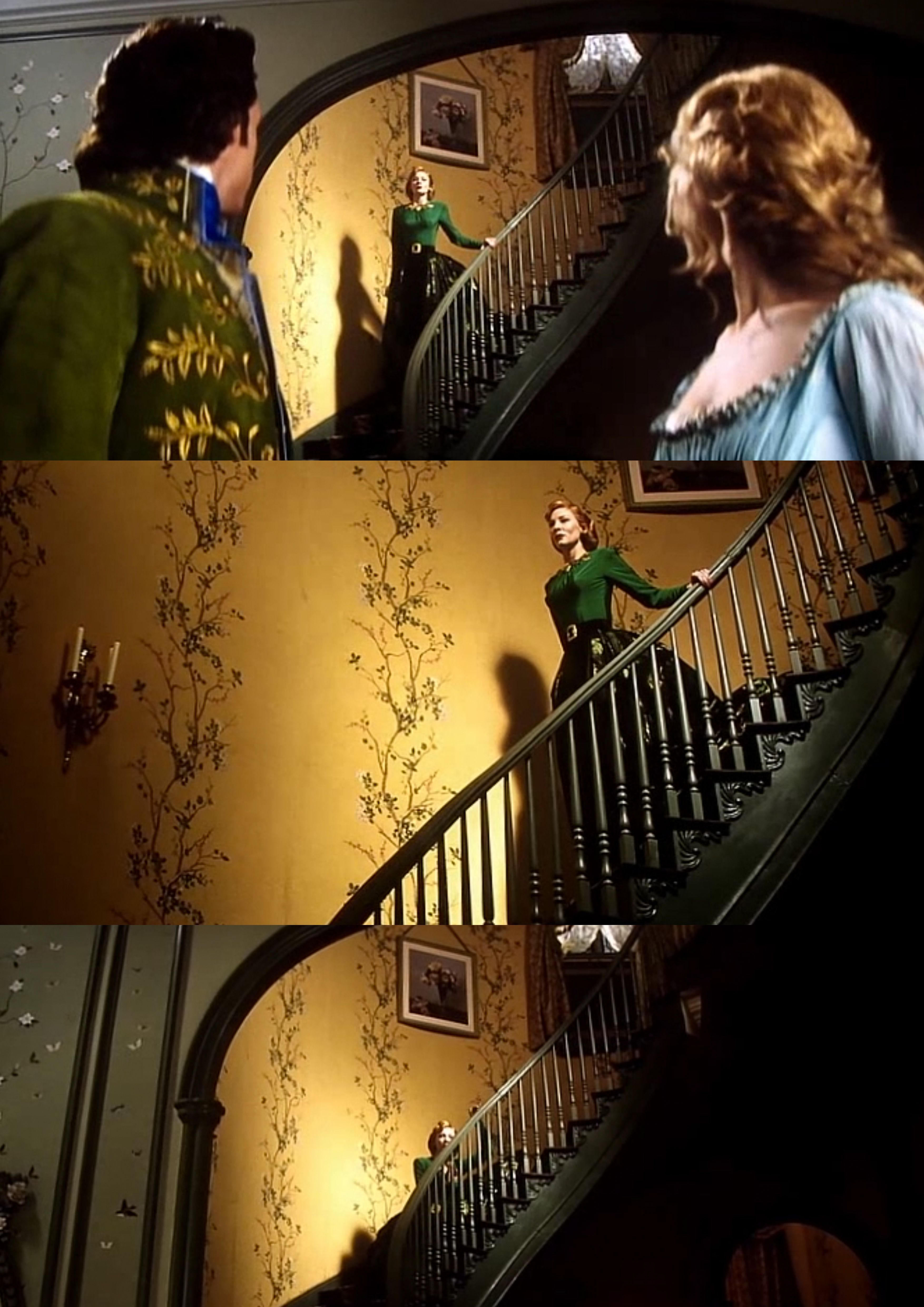 Cinderella Movie 2015- Yellow mustard walls with patterns <3 | Home ...