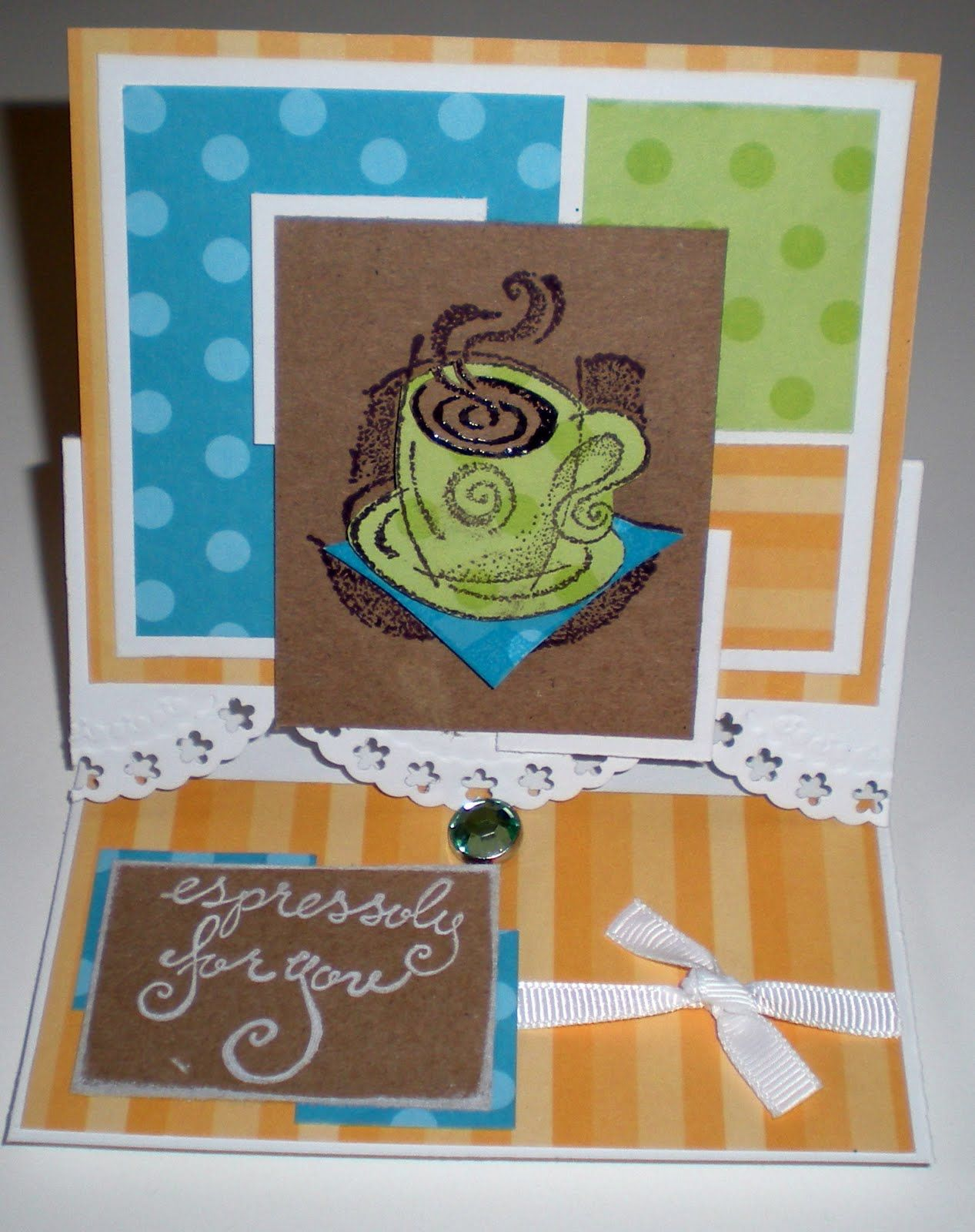 recollections scalloped square paper punch | Ribbons & Julz: A couple of challenges along with some birthdays