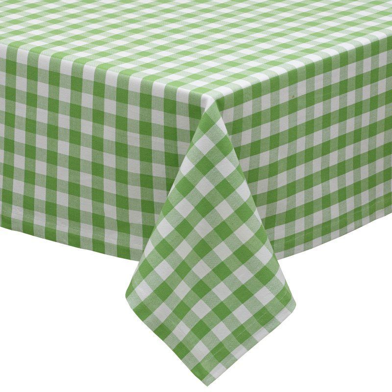 Design Imports Checkers Tablecloth - 27914 Checkered tablecloth