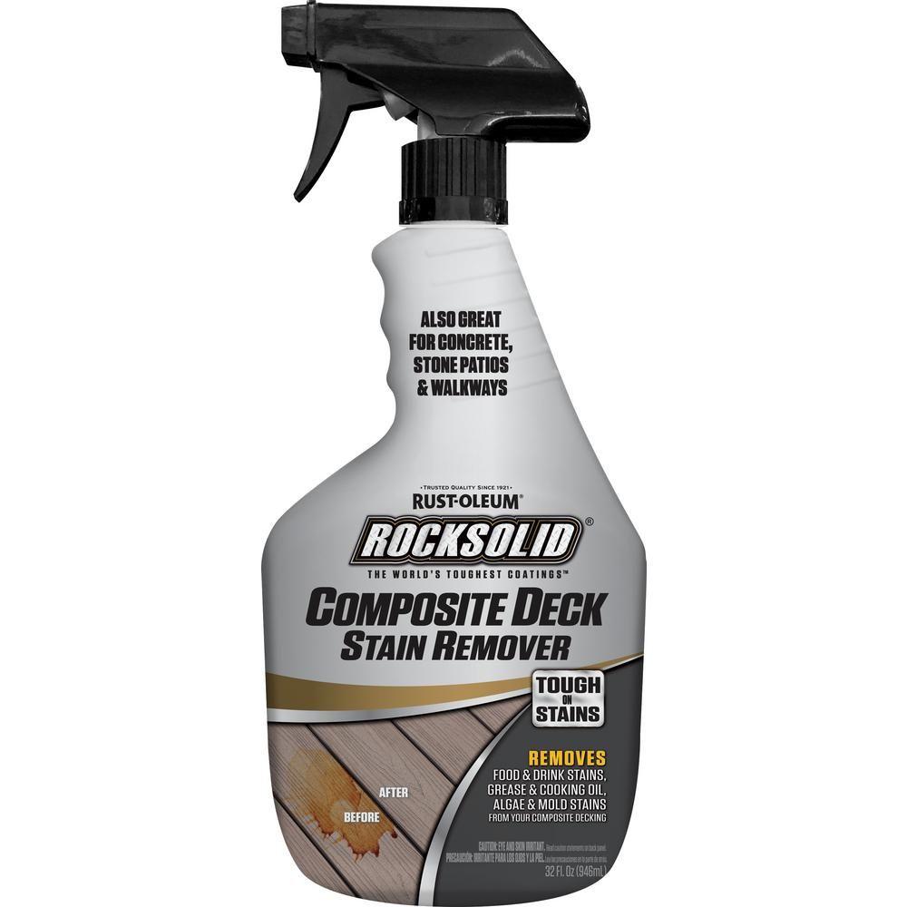 RustOleum RockSolid 32 oz. Composite Deck Stain Remover