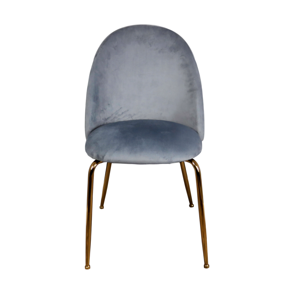 Gatsby styled dining chair - Grey - set of 2