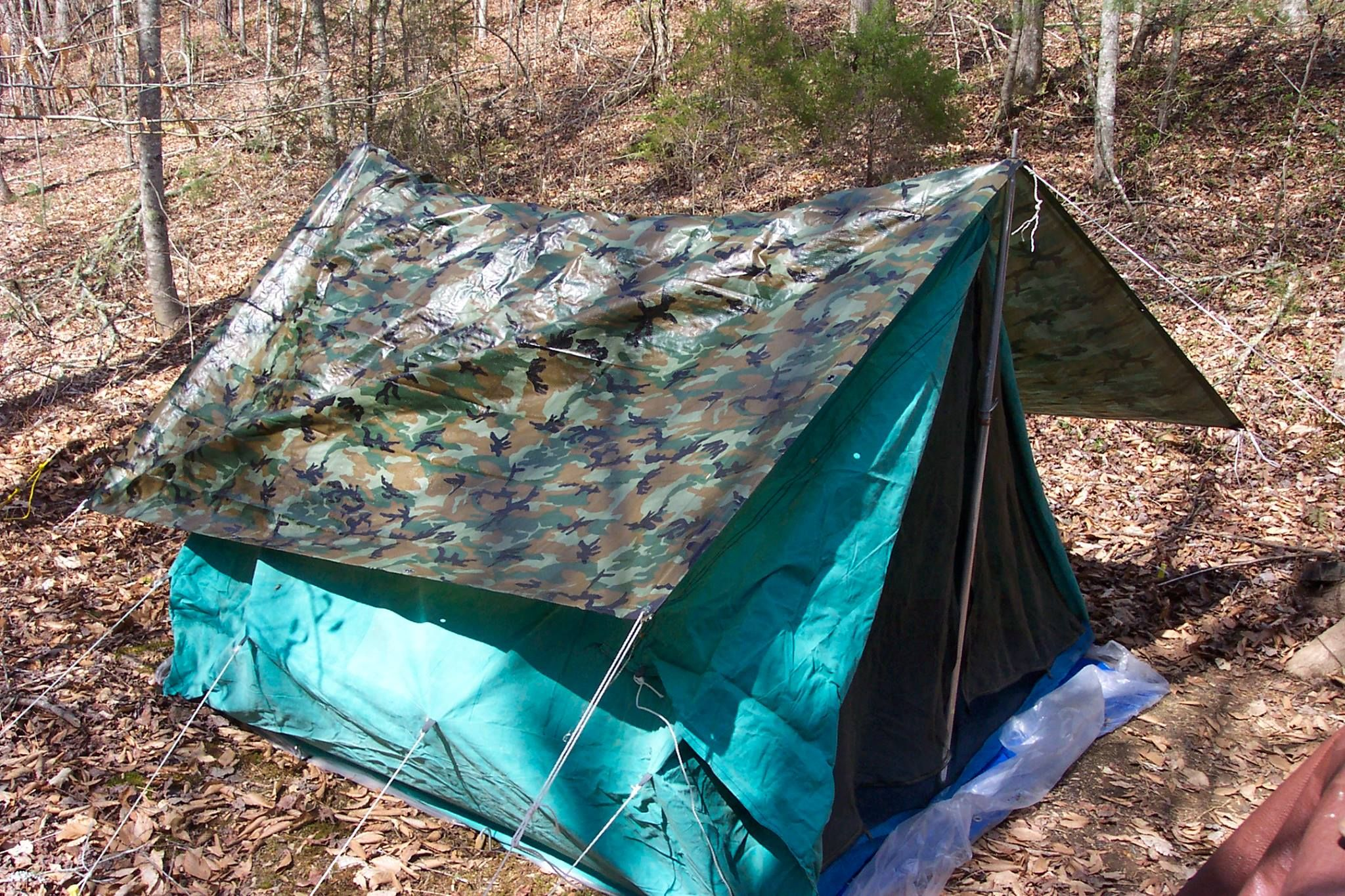 Camping in NC woods