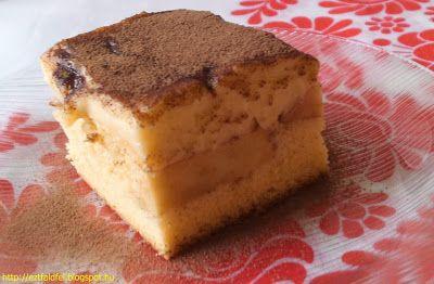 Ezt fald fel!: Almás-vaníliakrémes piskóta