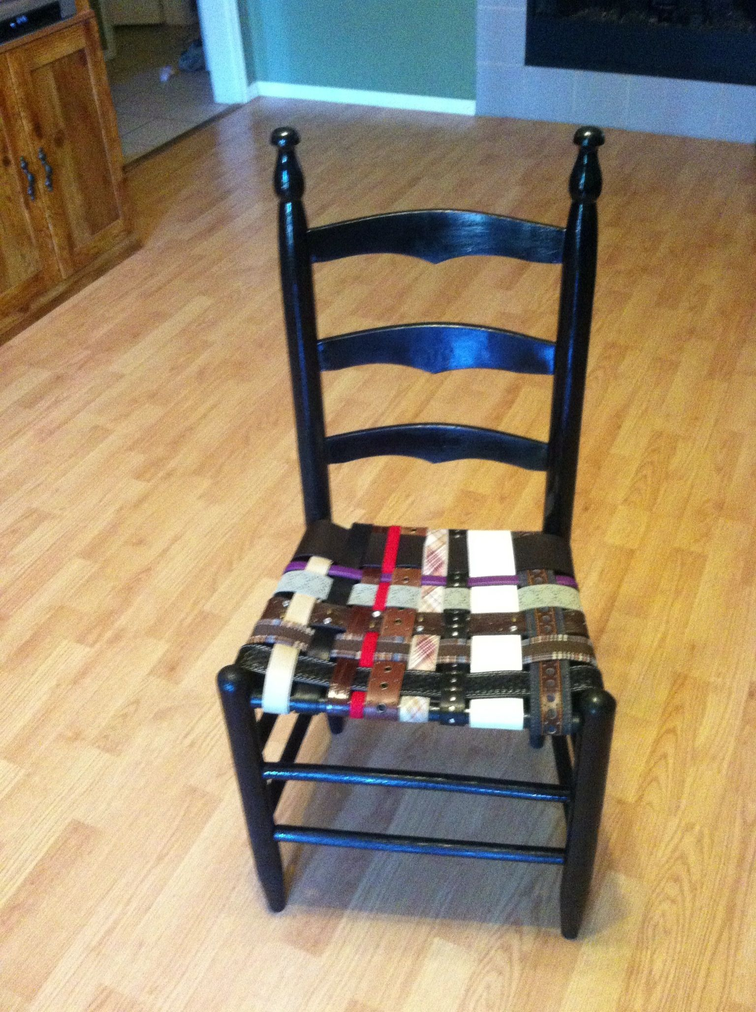 Belt Seat Chair Home Diy Upholstery