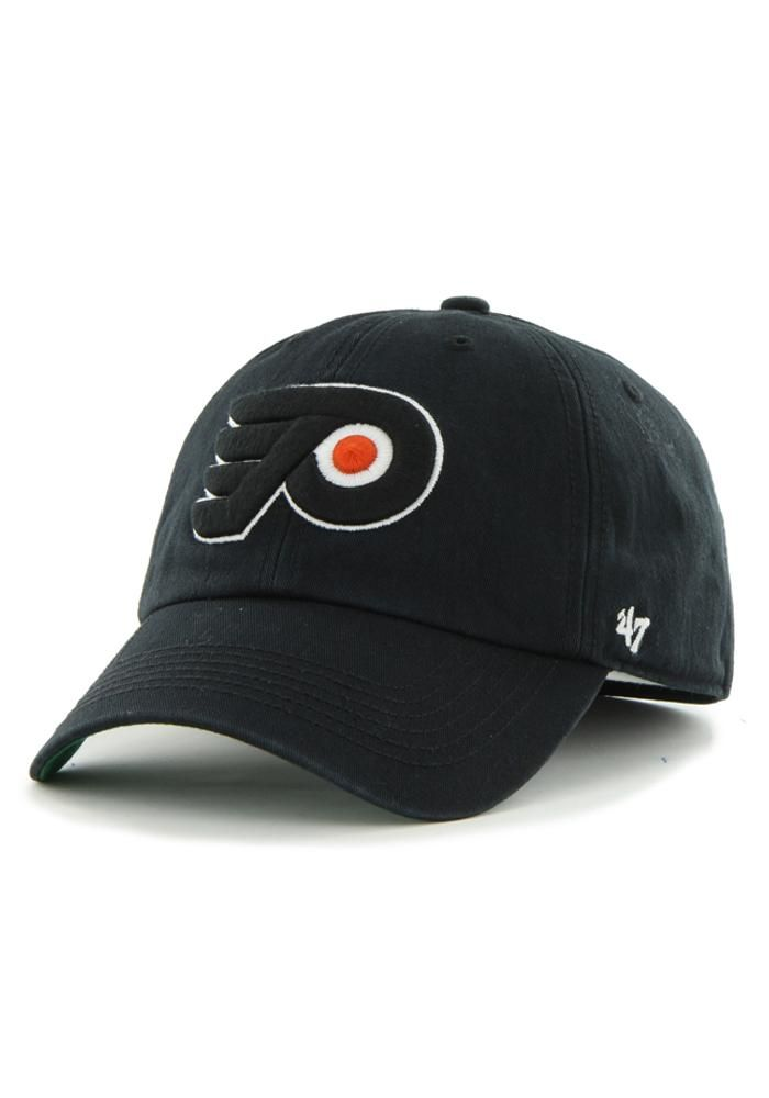 the latest beb35 7e7ae  47 Philadelphia Flyers Mens Black 47 Franchise Fitted Hat, Black, COTTON,  Size